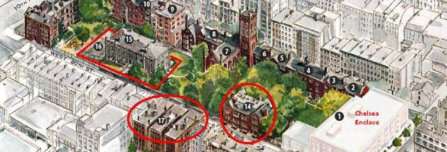 Chelsea Seminary selling Buildings to Brodsky