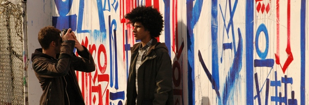 NY Art & Real Estate: LA Street-Artist Retna Paints Mural at Bowery Graffiti Wall